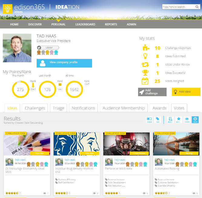 edison365ideas Personal Page
